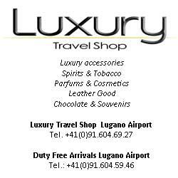Luxury travel shop