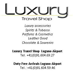 Luxury travel shop